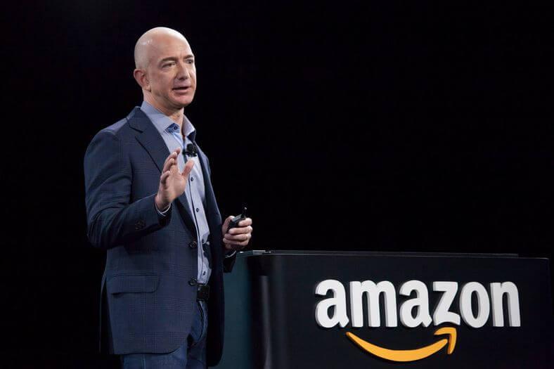 亞馬遜創辦人 Jeff Bezos